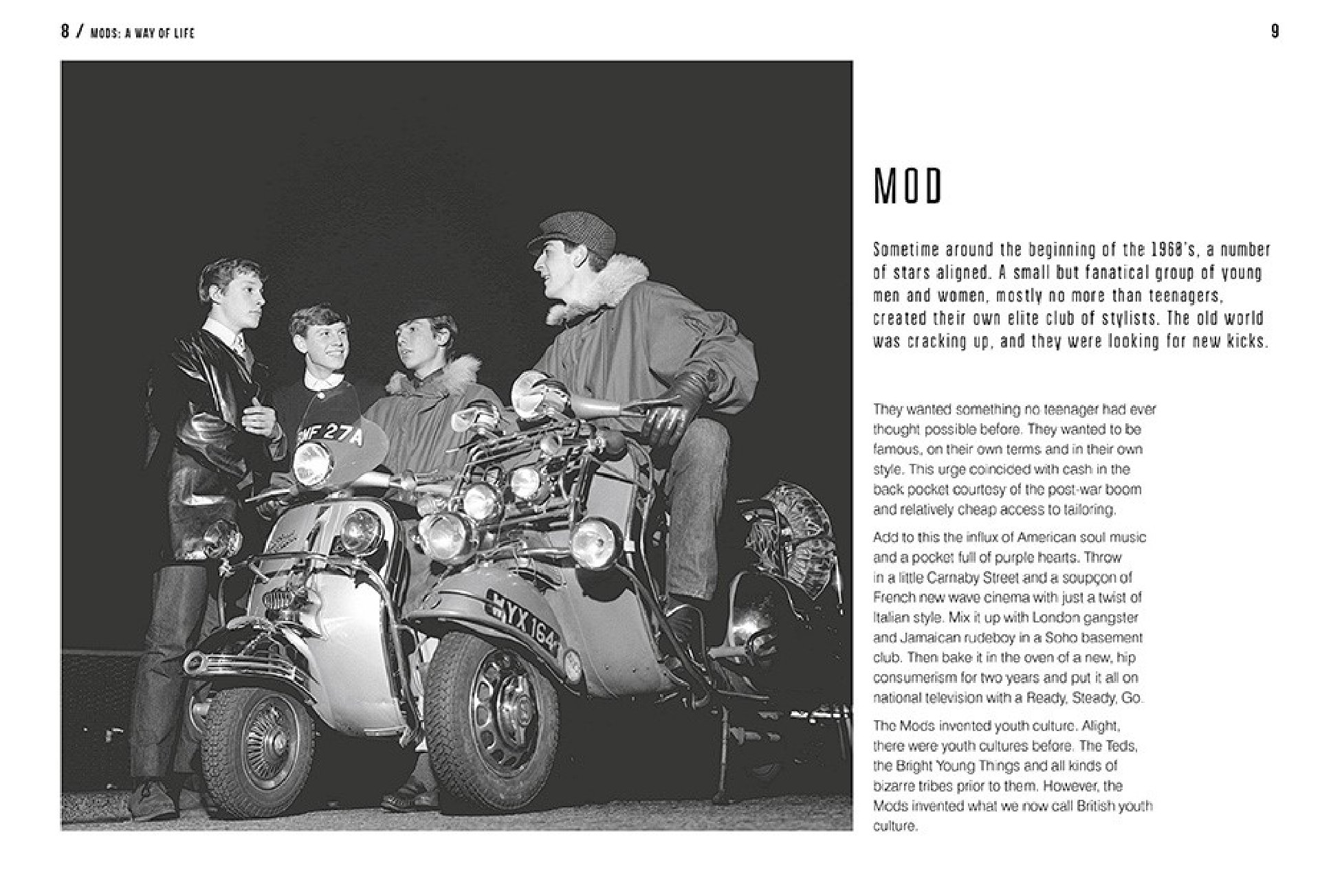 Buch, Mods - A Way Of Life - Abrams & Chronicle Books - Bild 3
