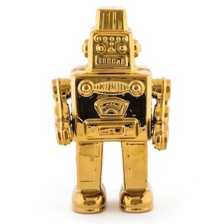 Dekoration, Memorabilia My Robot Gold Edition