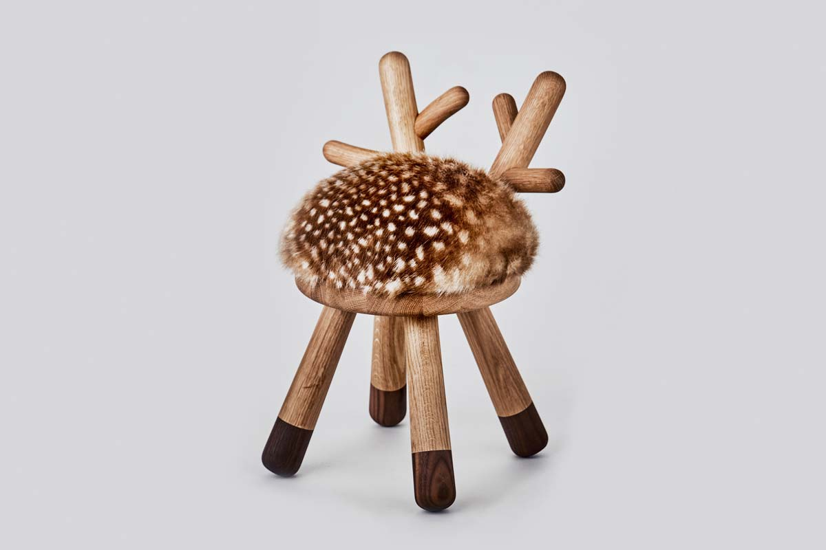 Hocker, Bambi Chair - Bild 1