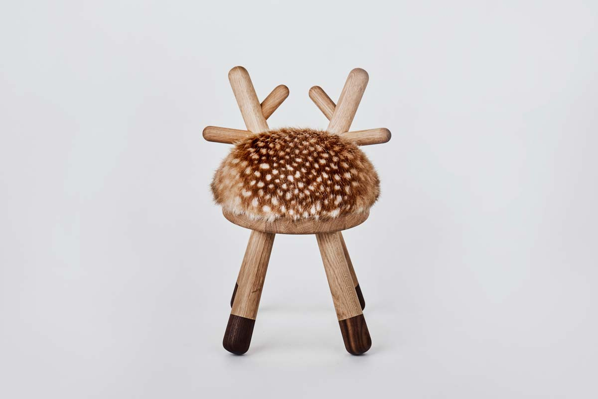 Hocker, Bambi Chair - Bild 2