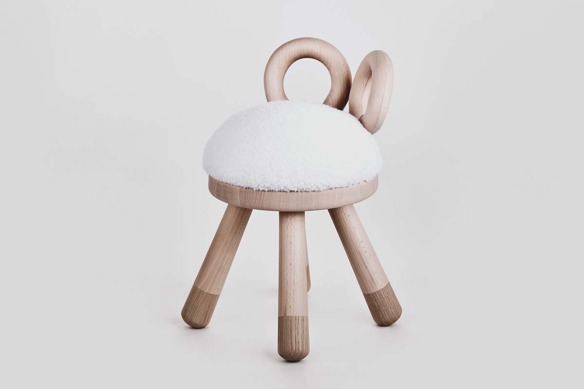 Hocker, Sheep Chair - EO Denmark - Bild 1