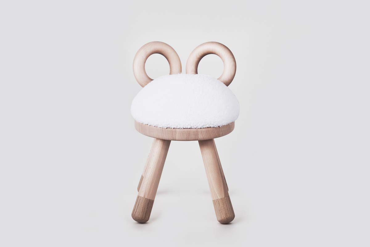 Hocker, Sheep Chair - EO Denmark - Bild 2