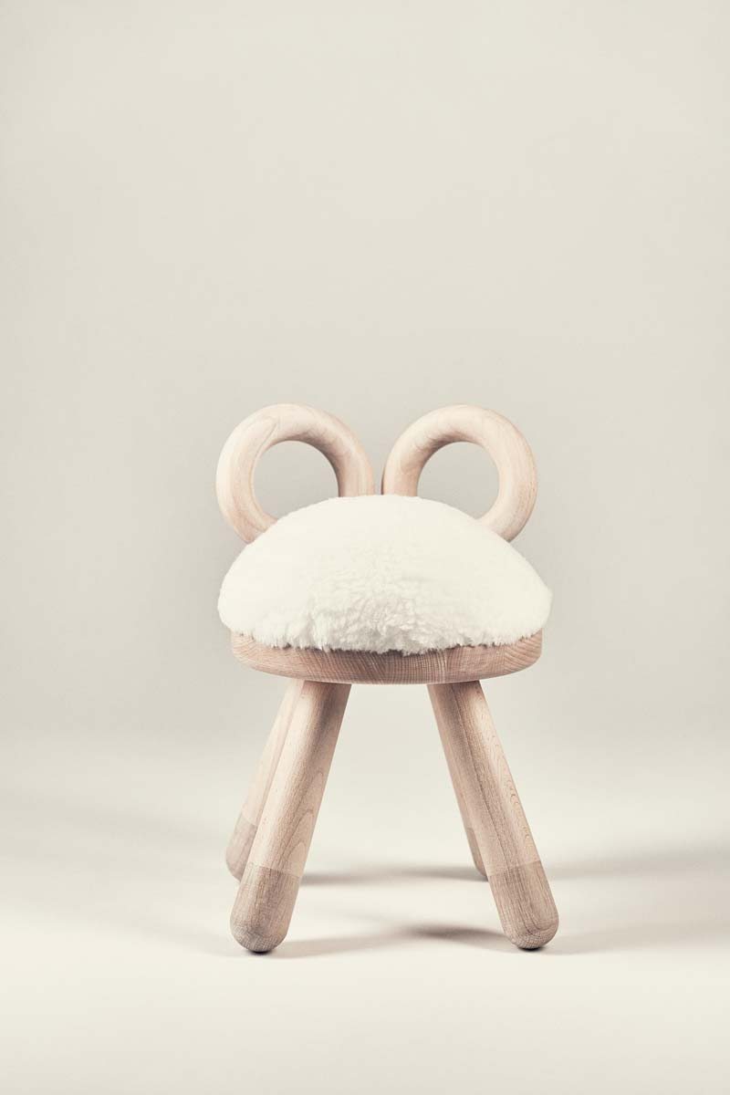 Hocker, Sheep Chair - EO Denmark - Bild 4