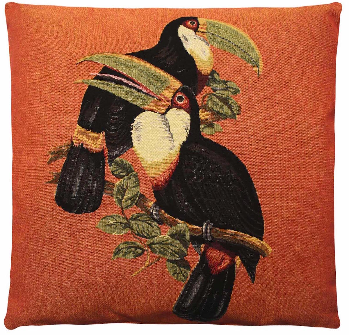 Kissen, Tukan Paar, Orange - FS Home Collections - Bild 1