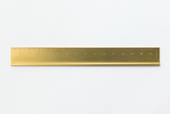 Lineal, Brass Ruler - Bild 1
