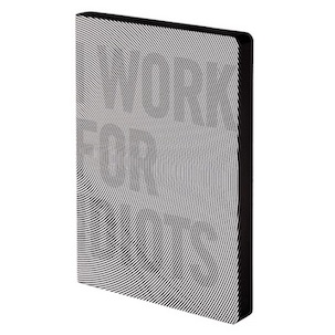 Notizbuch, Graphic L - I Work For Idiots (A5)