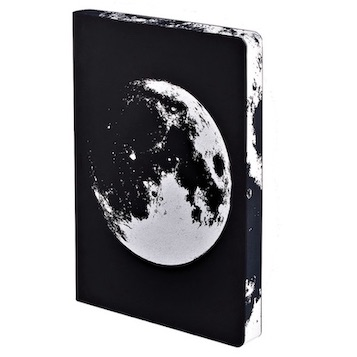 Notizbuch, Graphic L - Moon (A5)