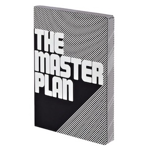 Notizbuch, Graphic L - The Master Plan (A5)