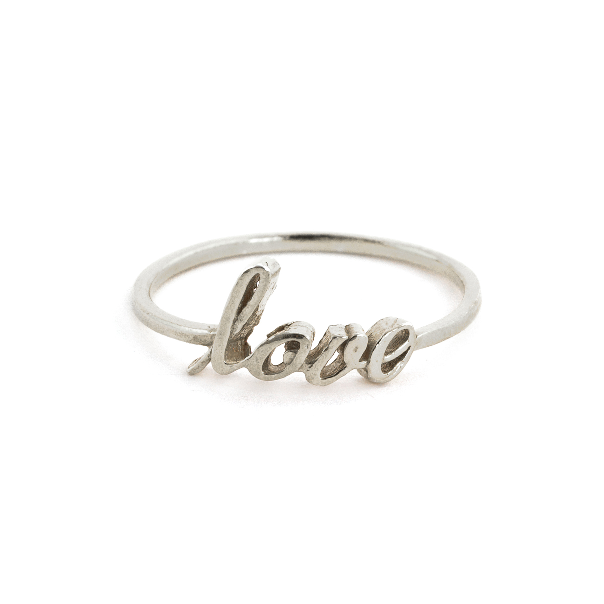 Ring, Love, Sterlingsilber