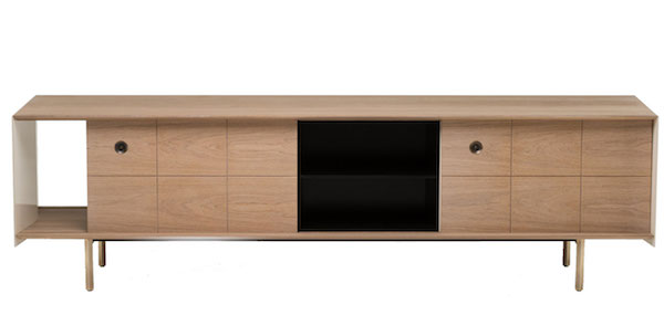Sideboard, Mitch Low Eiche