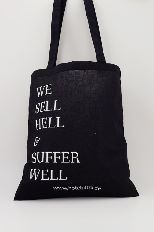 Stoffbeutel, Hotel ULTRA - We Sell Hell And Suffer Well - Hotel ULTRA - Bild 1