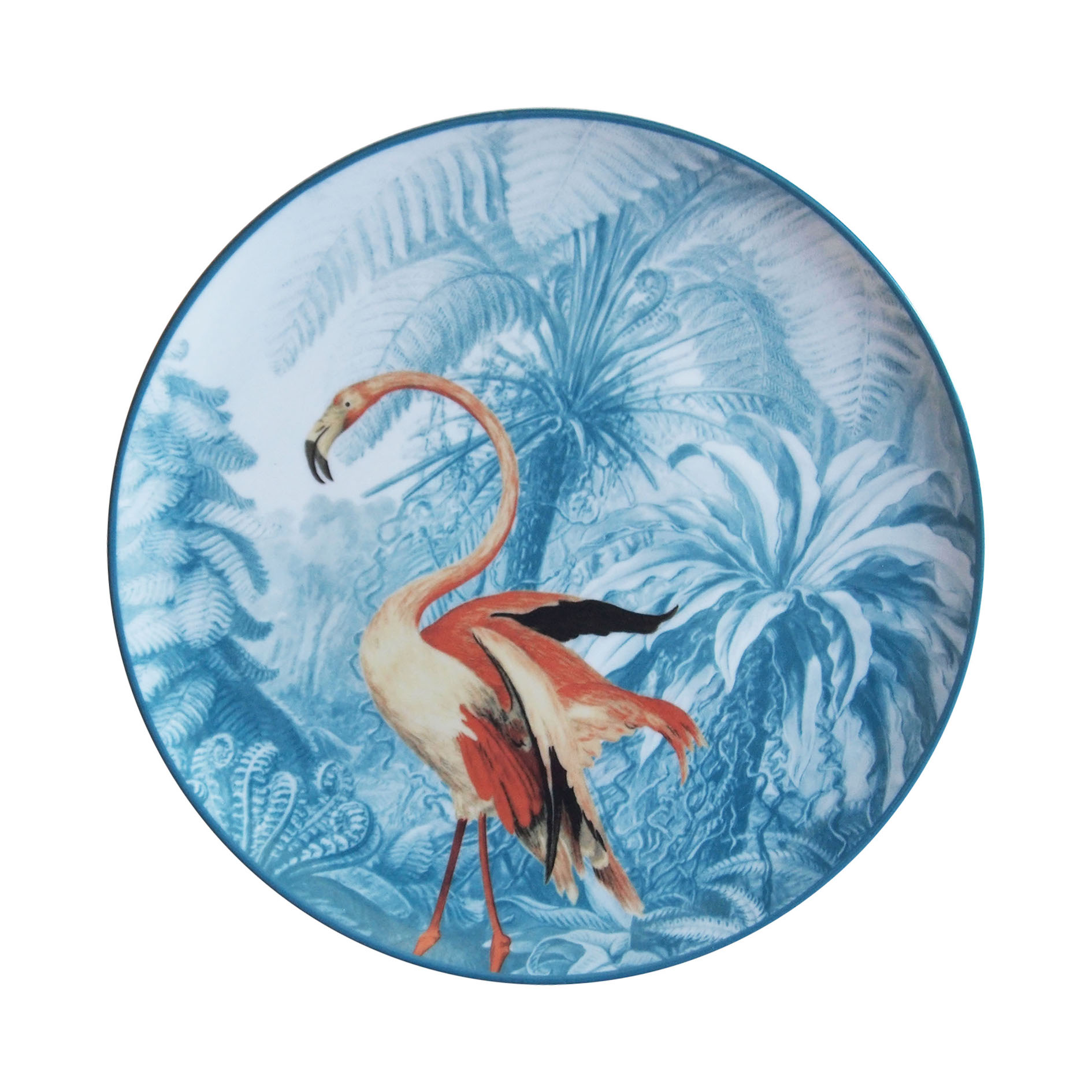 Teller, Menagerie Flamingo - Bild 1