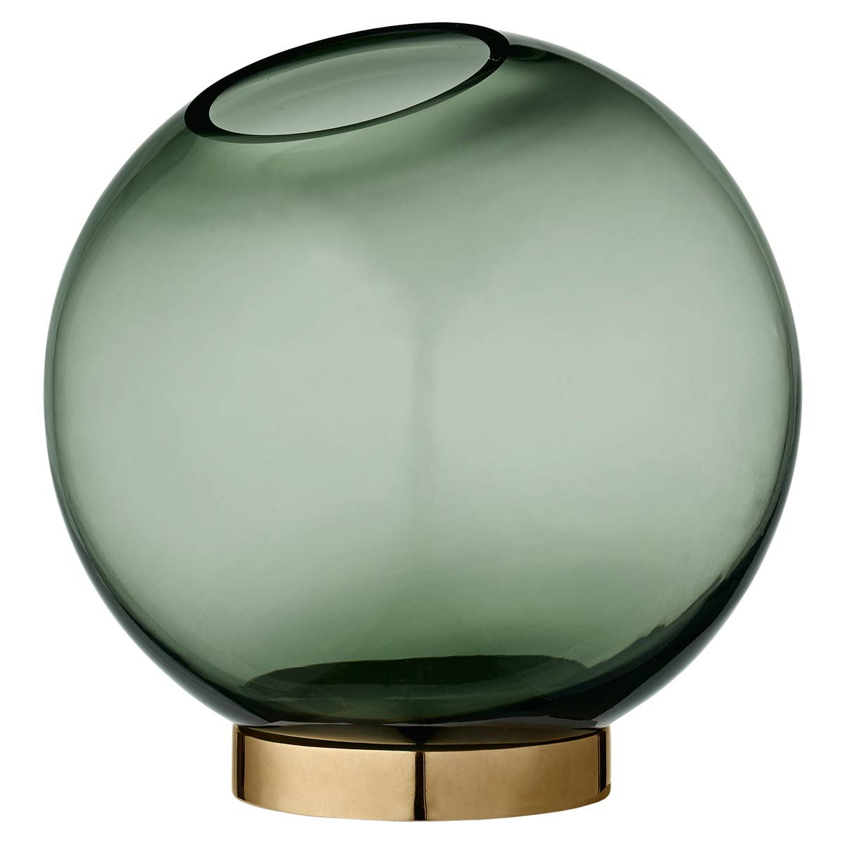 Vase, Globe Medium Green - AYTM - Bild 1