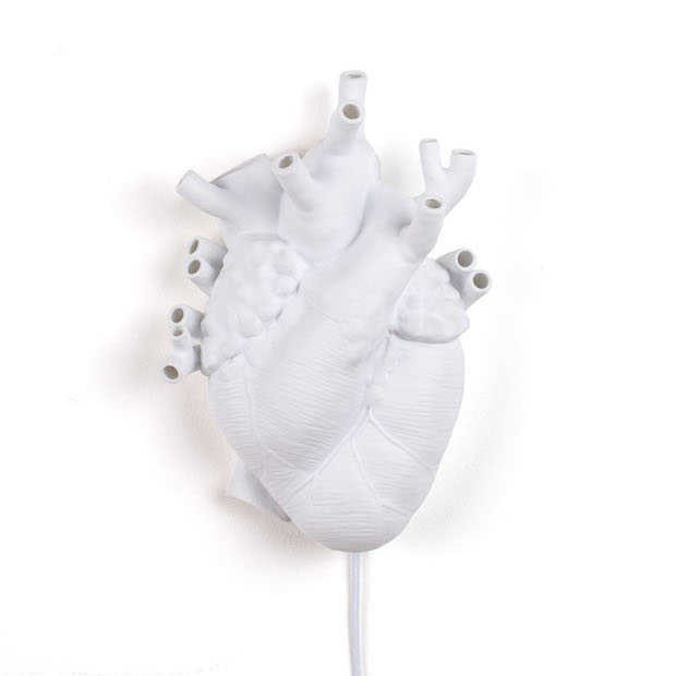 Wandleuchte, Heart Lamp (Love in Bloom)