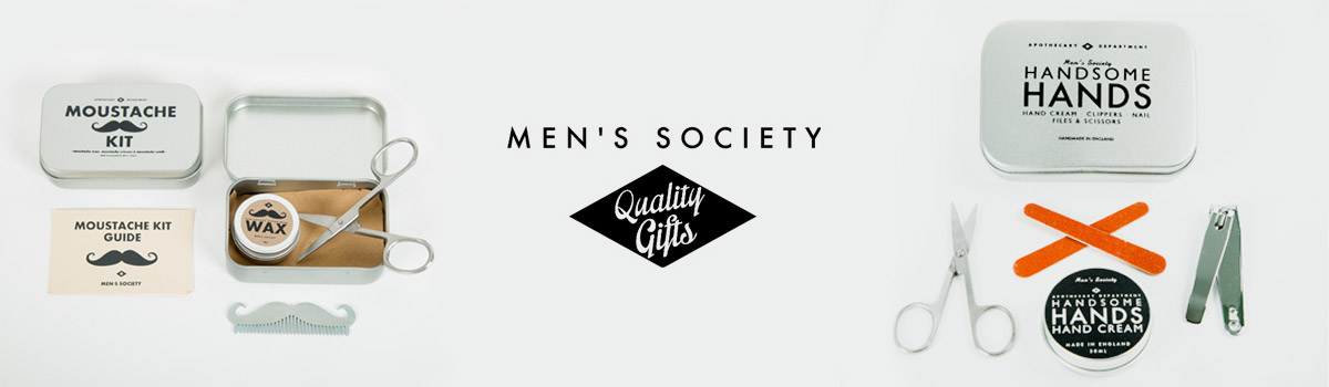 Men's Society Markenheader